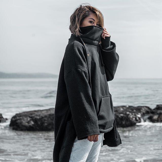 ANBU 🏴 Blackout cardigan & Suppress pullover