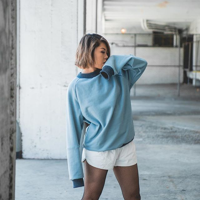 Tidal pullover 🐟  #myungclothing