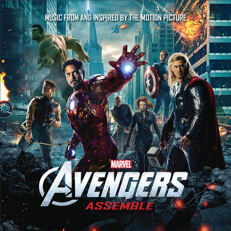 Avengers 1 soundtrack.JPG