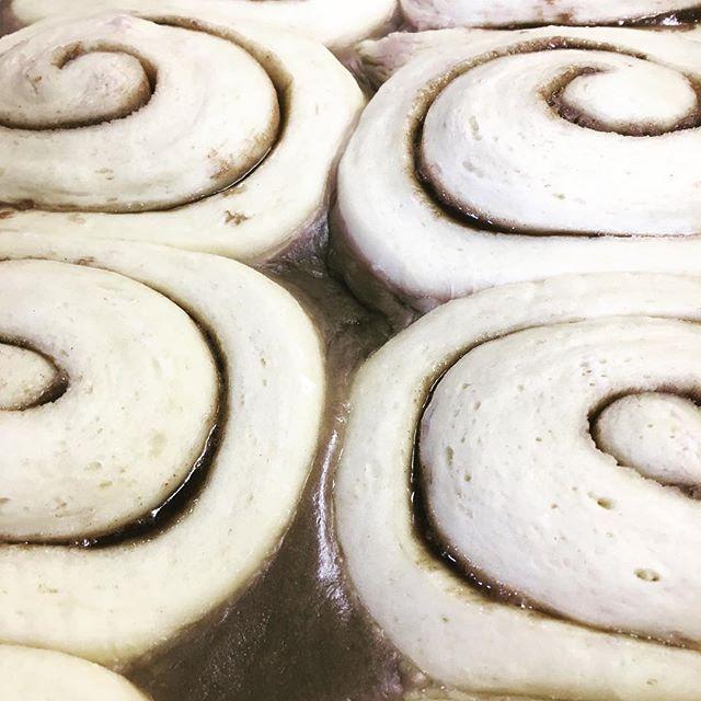 Cinnamon Rolls #brunchtime