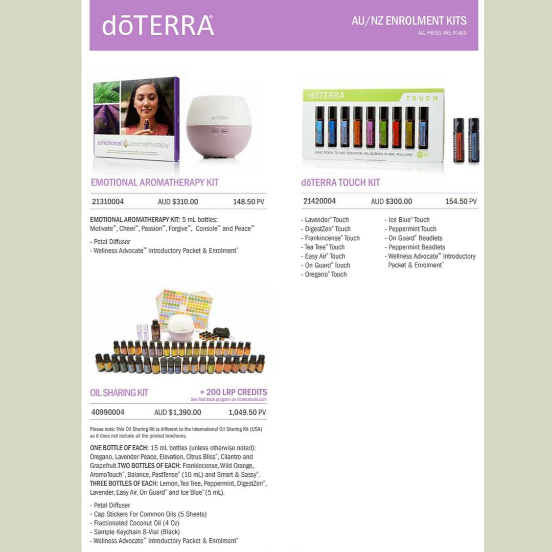 buy essential oils doterra jo kendall