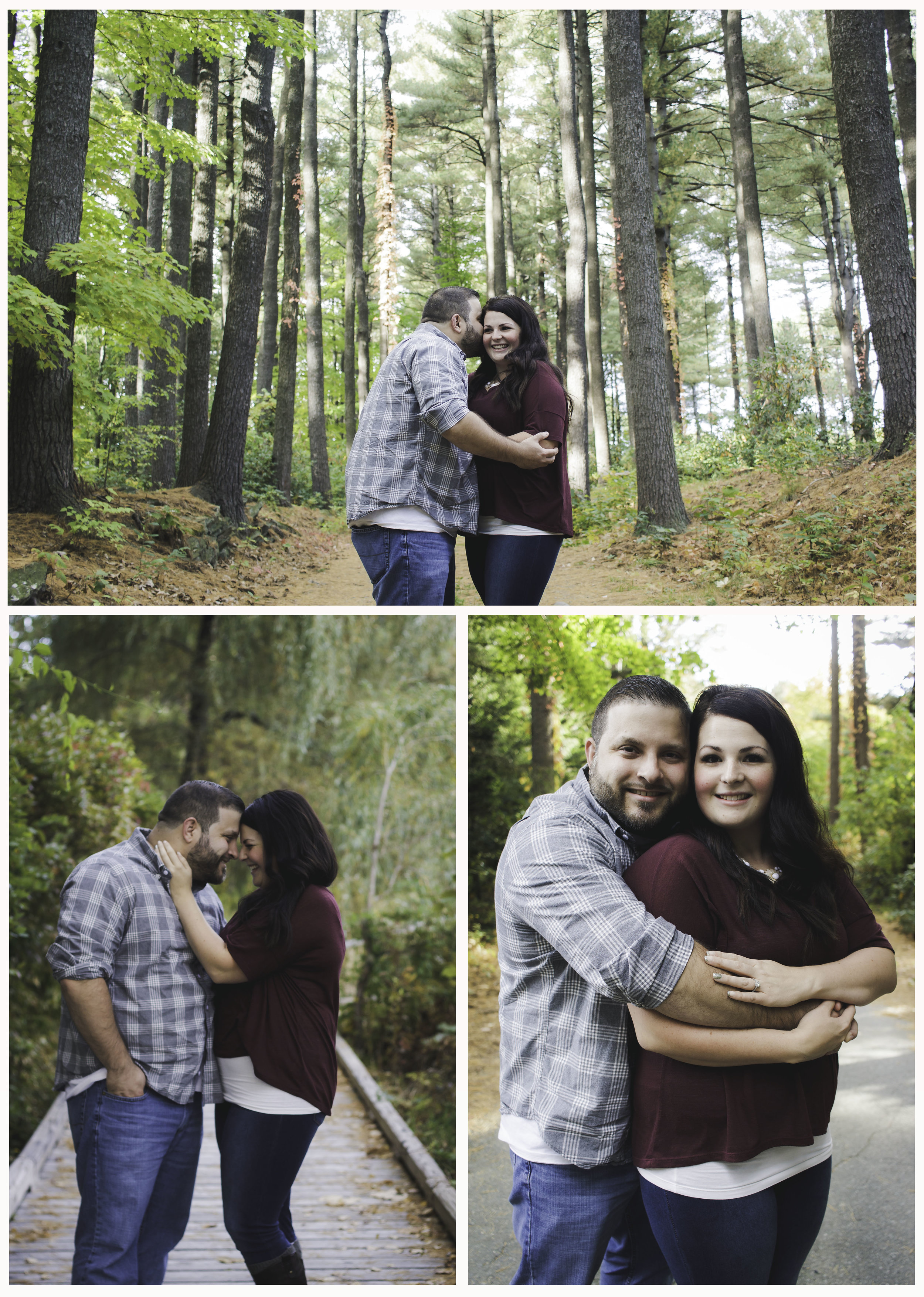 Renee & Juan, Fall Engagement Session, Leominster MA, Rachael Marie Photography