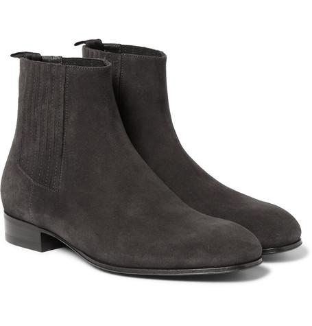 Balenciaga boots via Mr. Porter