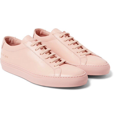 common projects_pink sneaker_mr porter