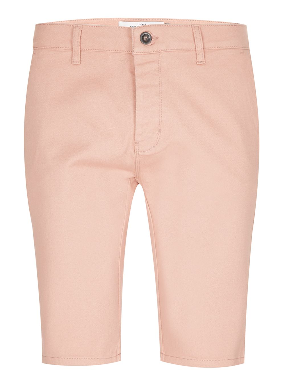 Topman Pink Stretch Skinny Chino Shorts