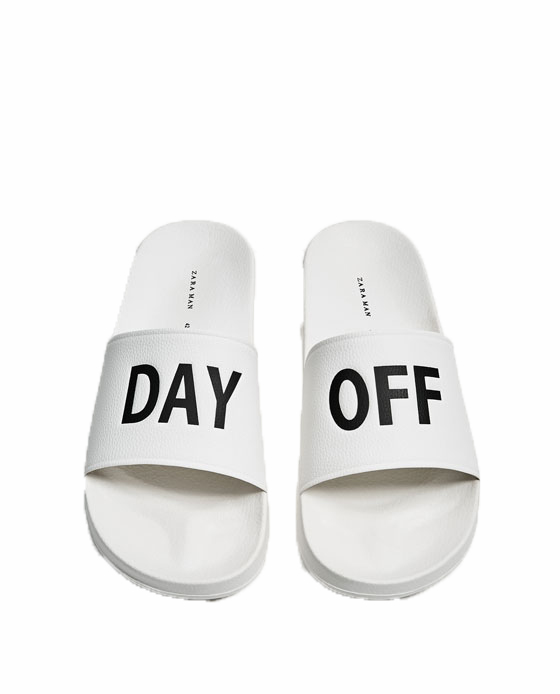 Zara PRINTED SLIDES