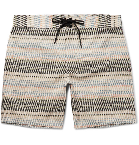 OUTERKNOWN Evolution Long-Length Printed ECONYL Swim Shorts