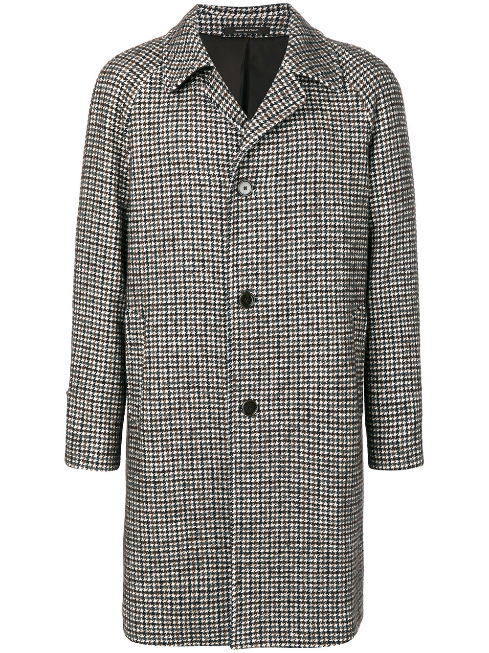 TAGLIATORE  houndstooth pattern coat