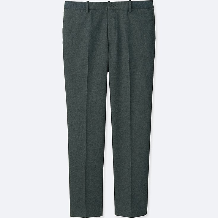 MEN RELAXED ANKLE-LENGTH PANTS (COTTON)