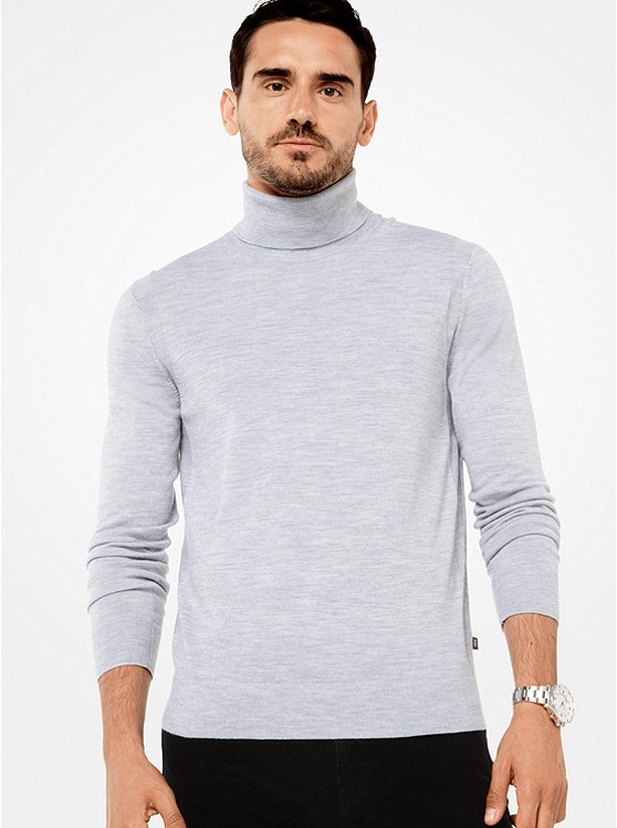 MICHAEL KORS MENS Merino Turtleneck