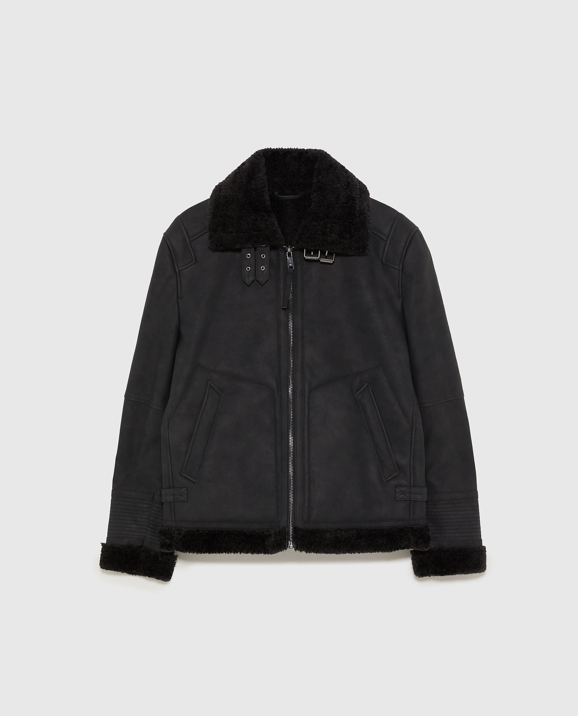 zara DOUBLE FACED JACKET