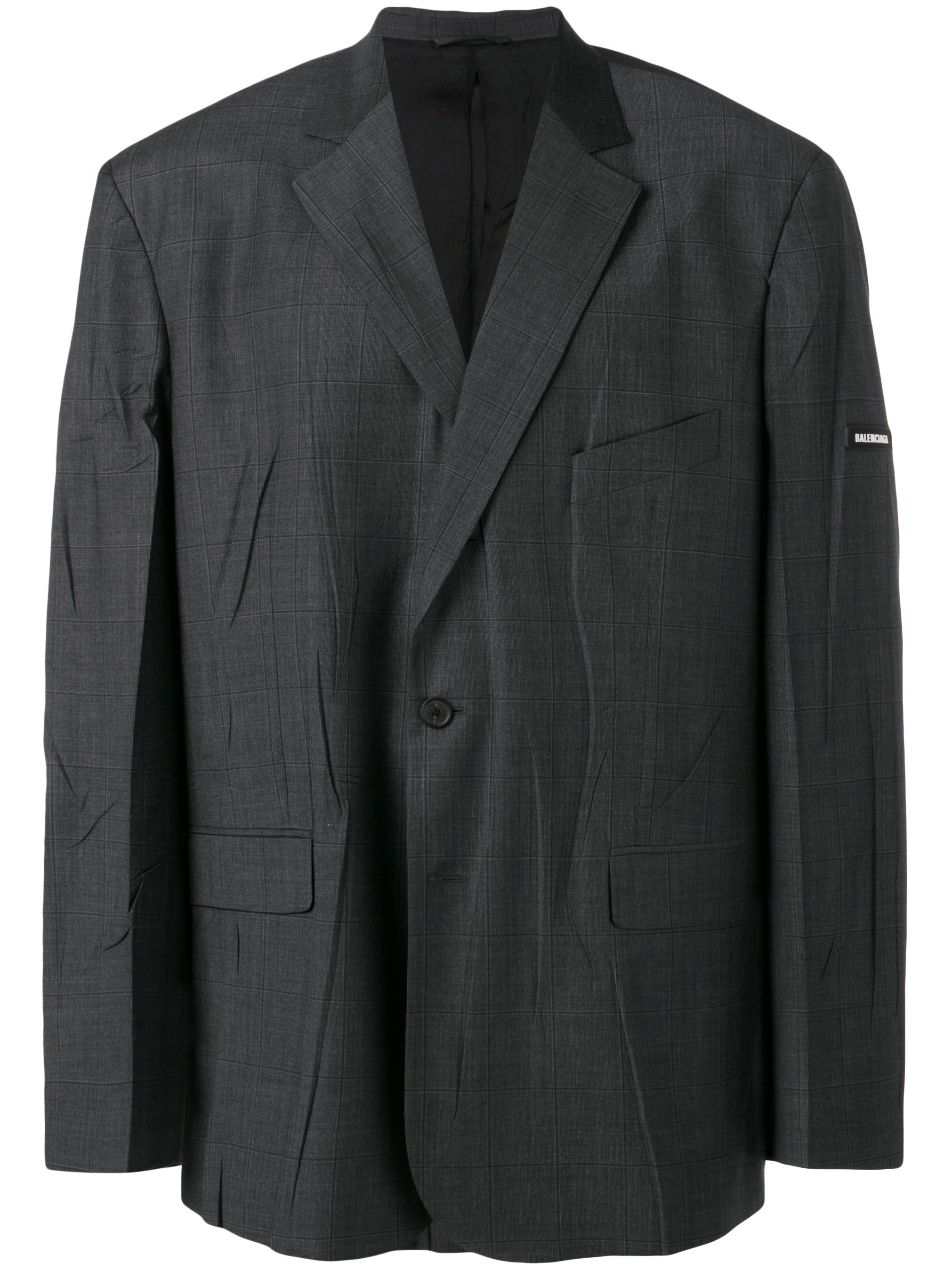 BALENCIAGA oversized blazer