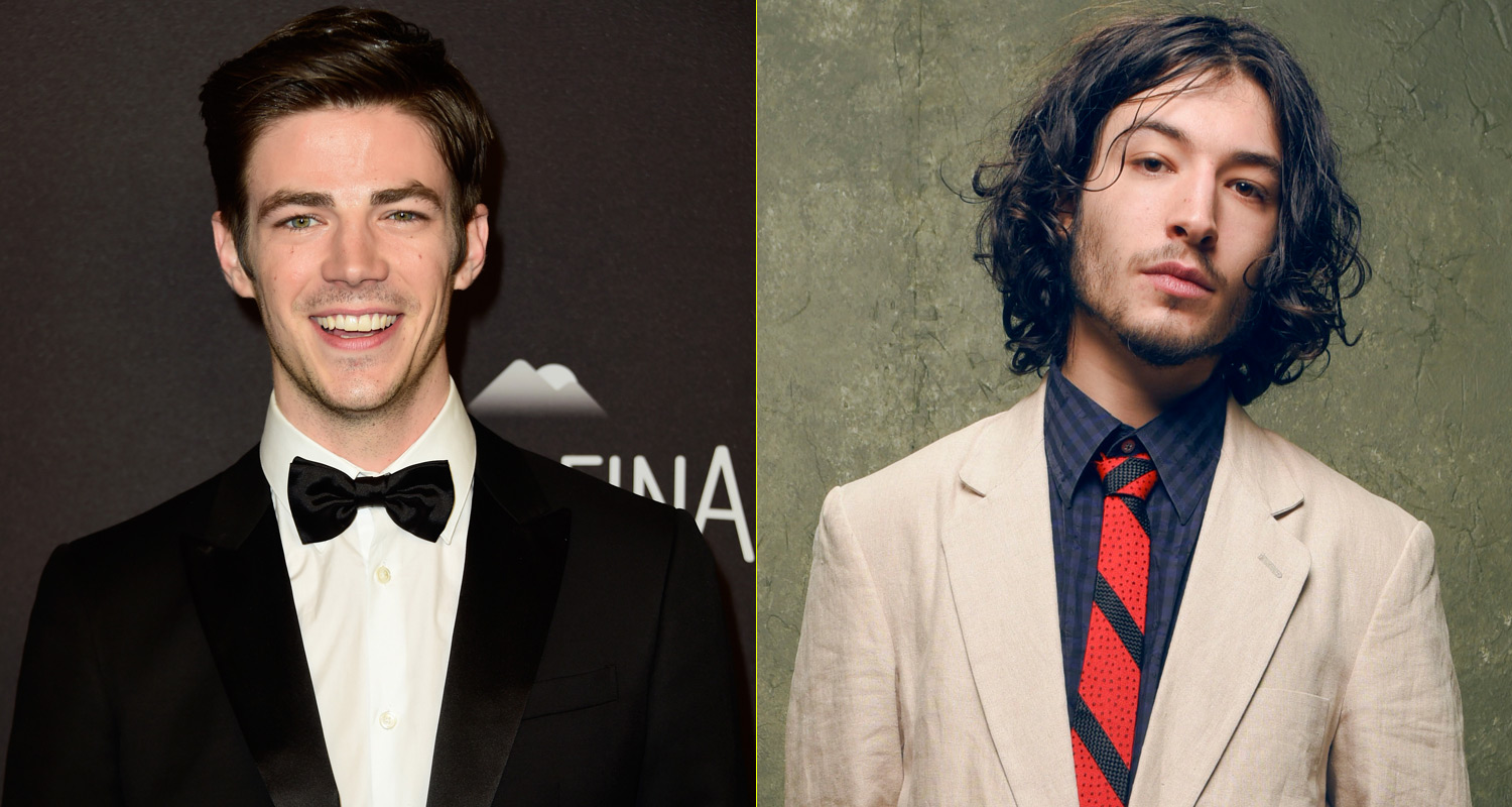 Both Grant Gustin and Ezra Miller have portrayed Barry Allen AKA The Flash this year and both will portray him again for the foreseeable future.