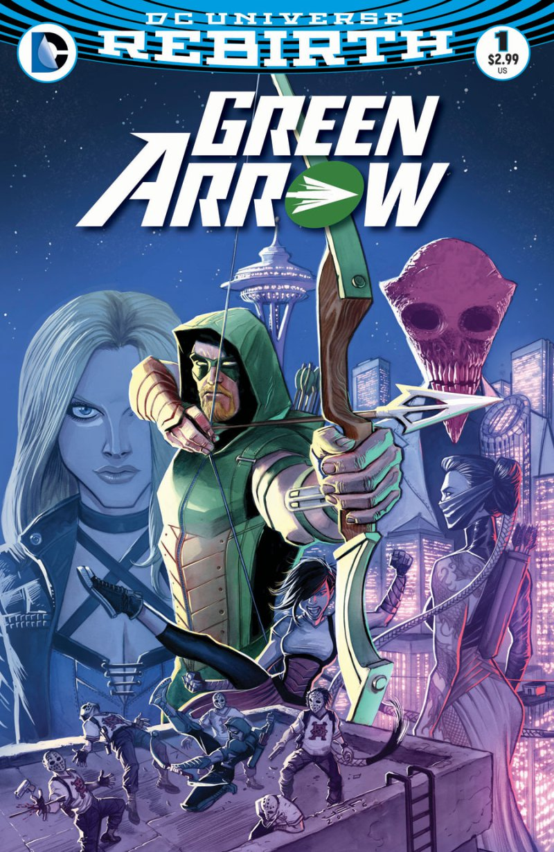 The first two issues of this series have been fantastic and are miles ahead of what's happening on The CW show right now, sad but not totally sad to say.