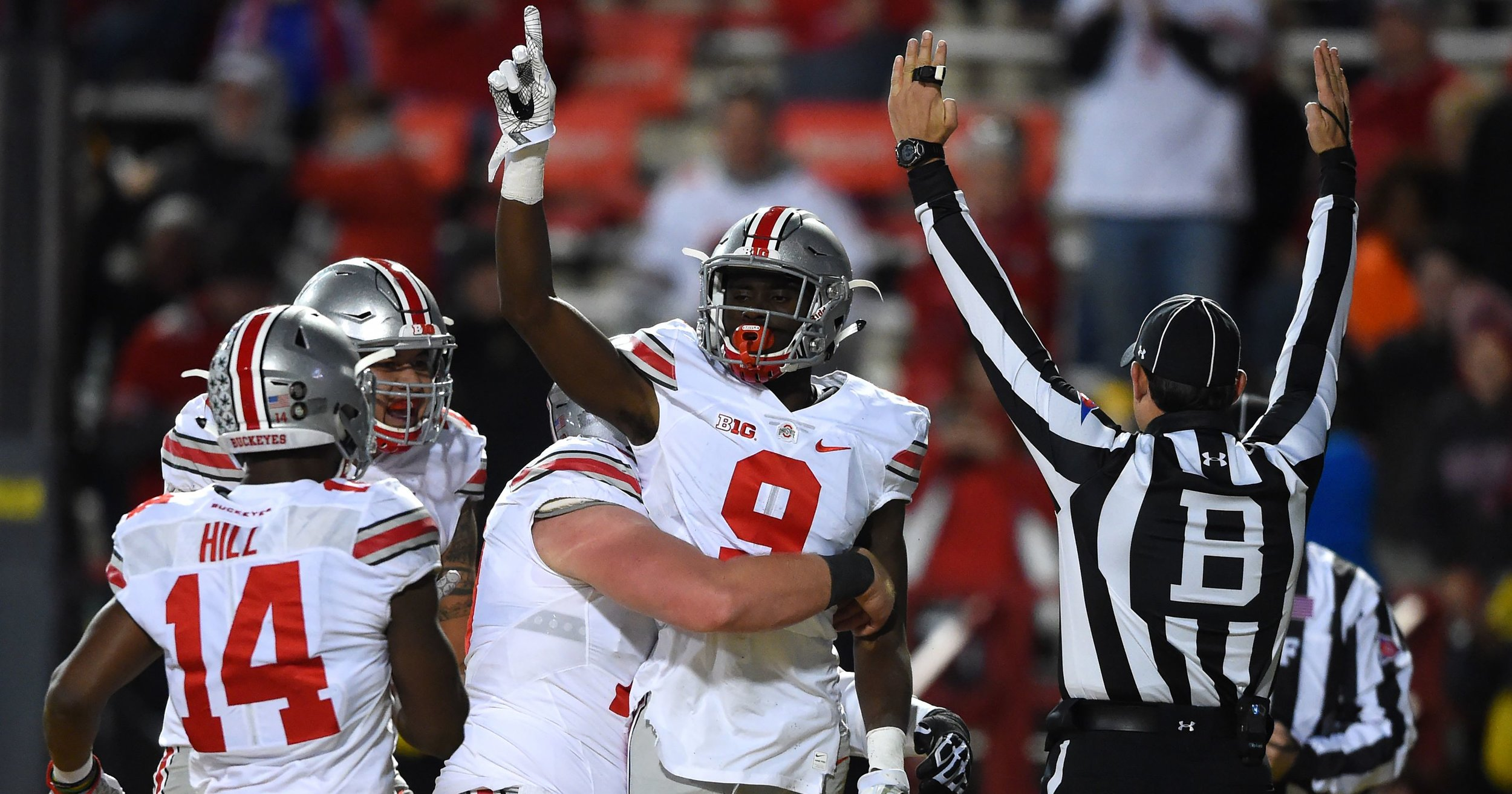 There was never an acceptable scenario for success that didn't include beating this team......unless you were okay with not winning the Big Ten a thirteenth straight year and going 2-14 in the last 16 games against the Buckeyes.