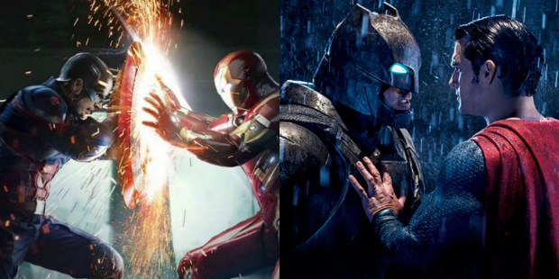 I saw both of these movies at the theater. Just because I like BvS a lot more doesn't mean I don't like Civil War and there is no rule saying that I can't.