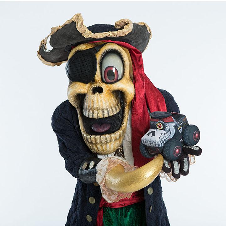 Pirate's Curse Mascot