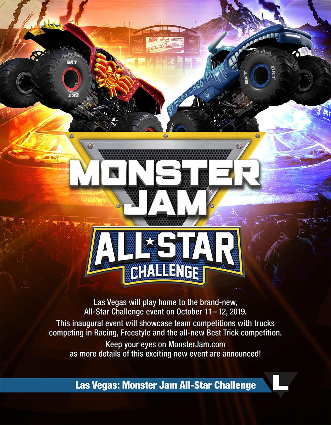 Ad in Monster Jam Souvenir Program