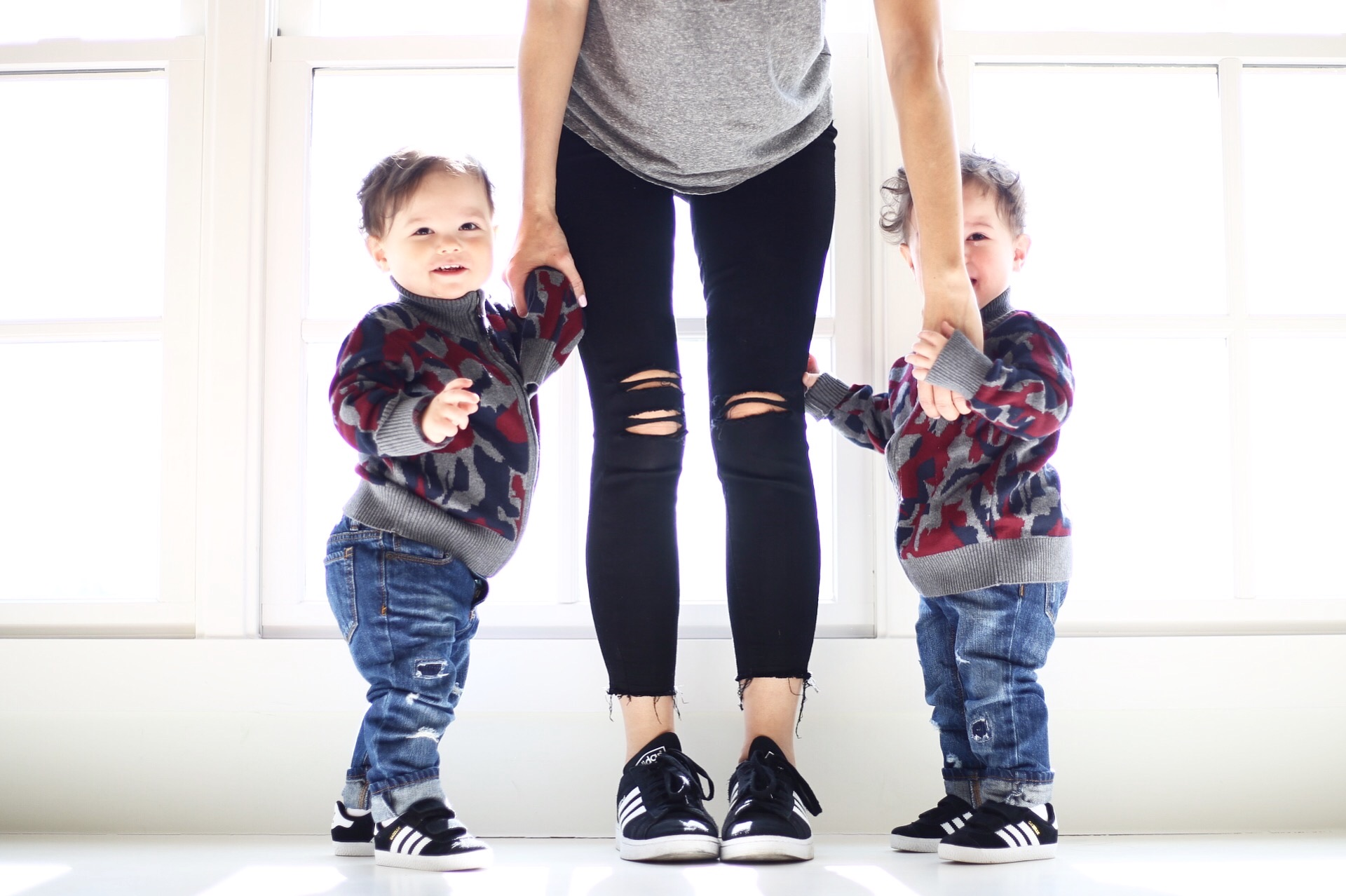 Paige  denim  |  adidas  | toddler  adidas  | toddler  denim  | toddler sweater  similar  | photo by Sydney Clawson |