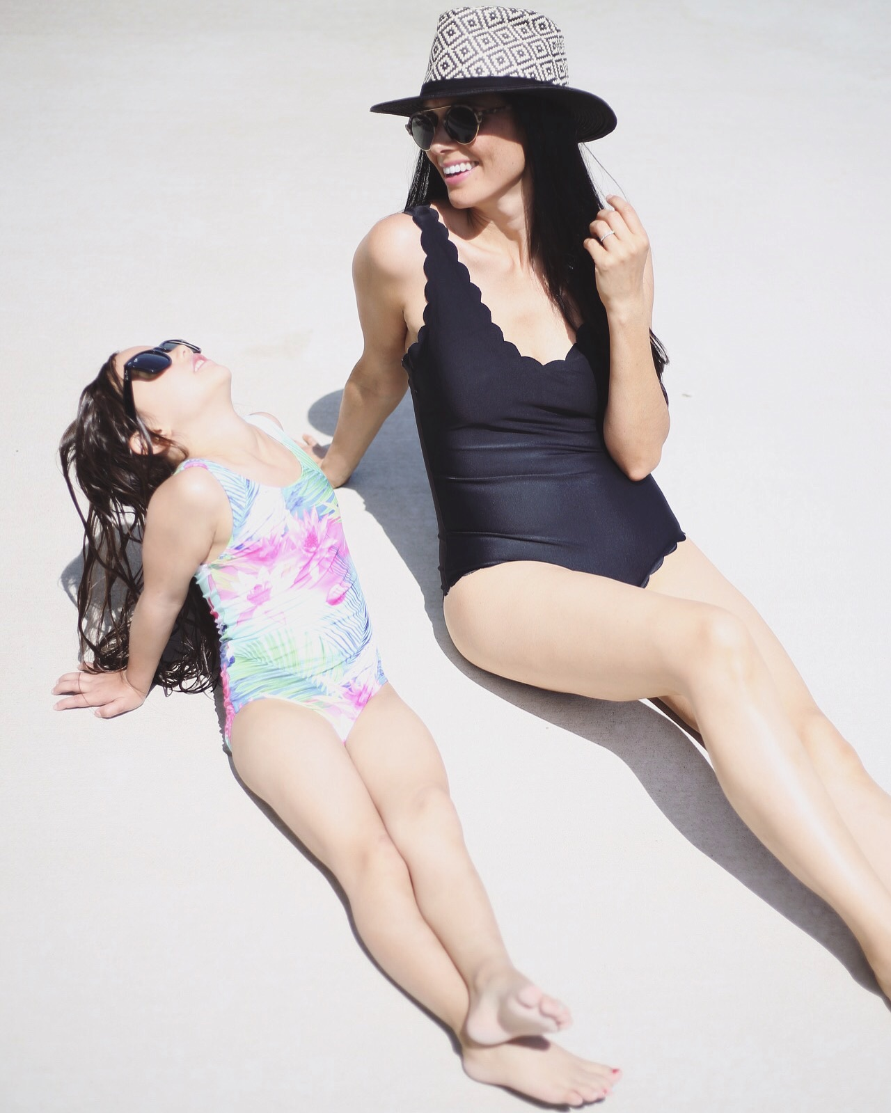 similar sunnies |   scalloped one piece  |  girls one piece similar  | image by sydney clawson