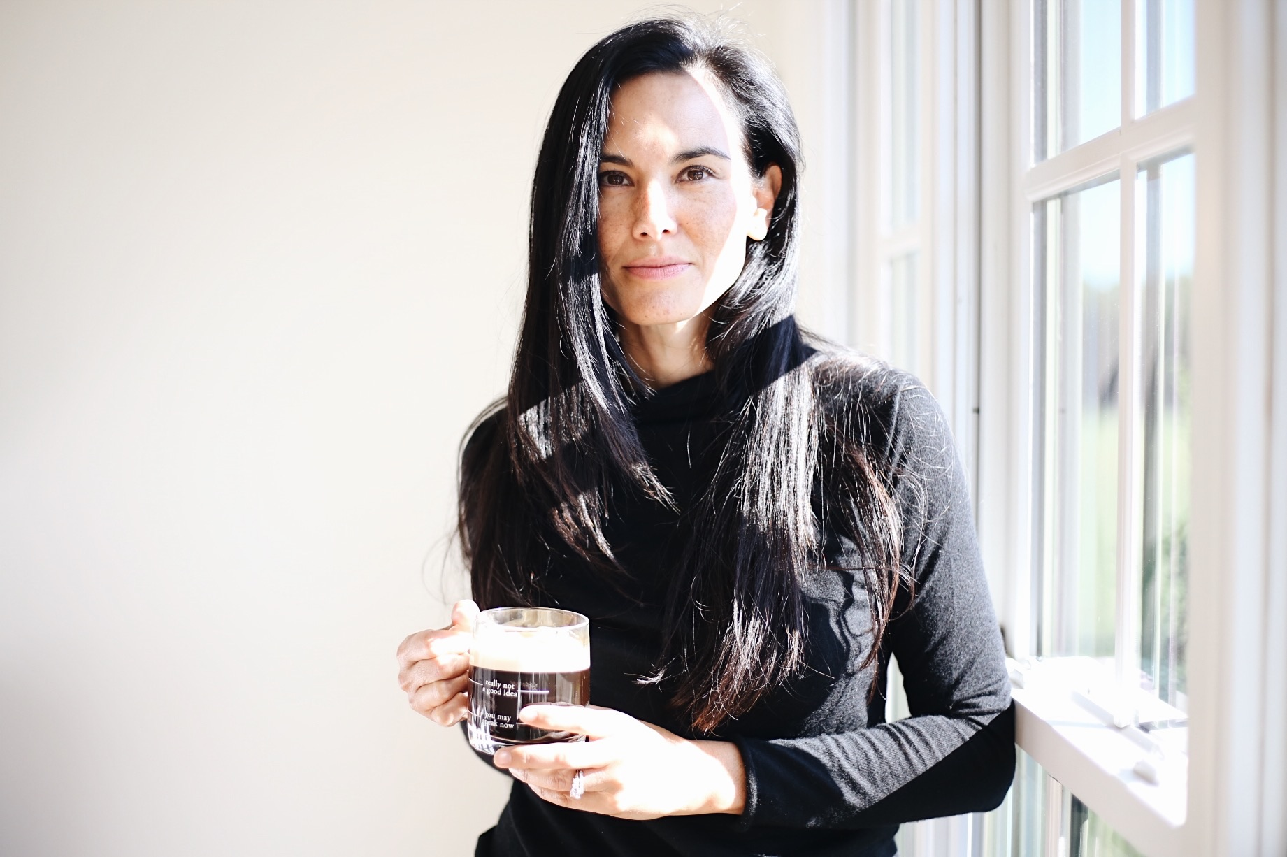 |  coffee mug  |  sweater  |    nespresso machine  | image by sydney clawson |