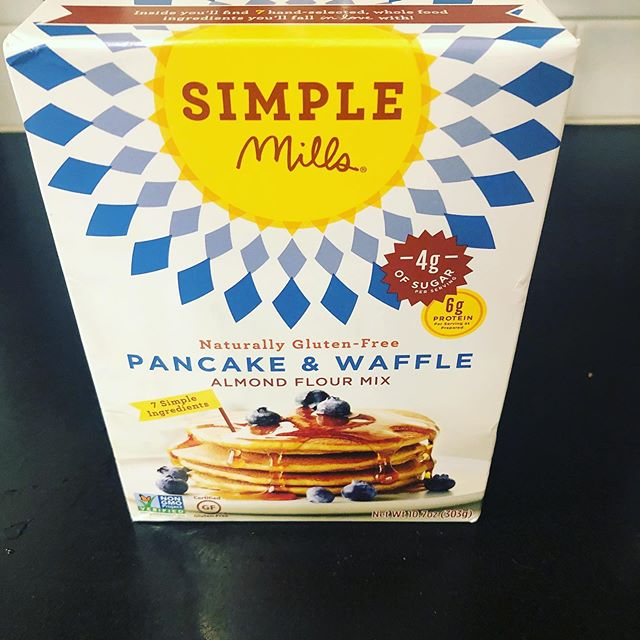 This pancake mix is delicious. #glutenfree #almondflour #pancakes