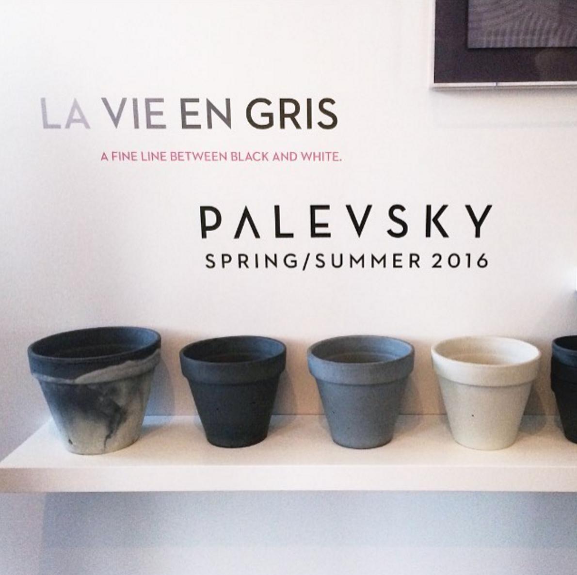 Palevsky    La Vie En Gris   Design Showcase  Brentwood, CA  May 7, 2016
