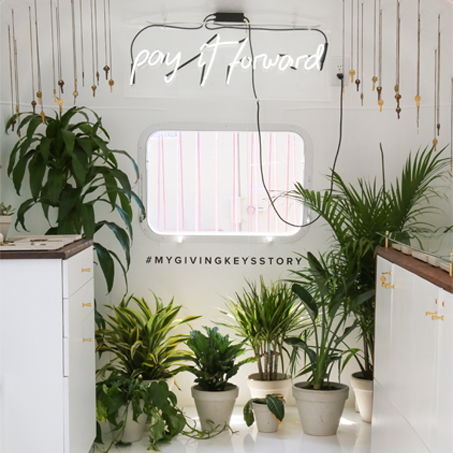 The Giving Keys    Airstream Pop-Up at The Grove  Los Angeles  August 2016