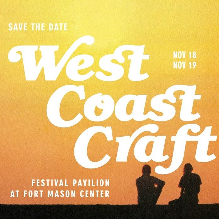 West Coast Craft   Winter Design Show  Fort Mason Center San Fransisco, CA  November 18-19 2017