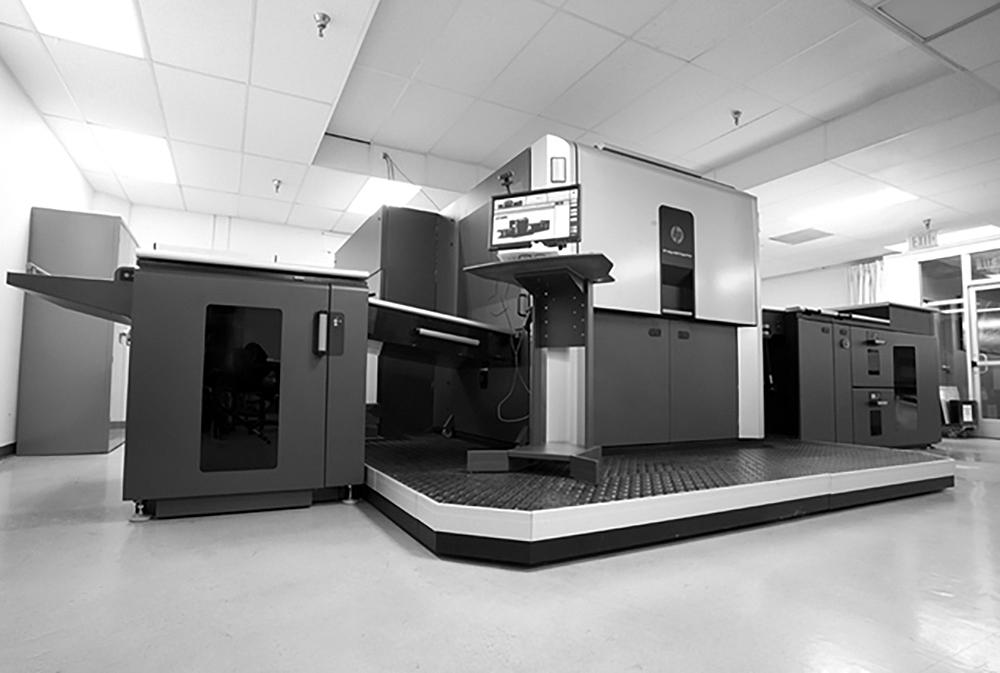 Indigo digital press