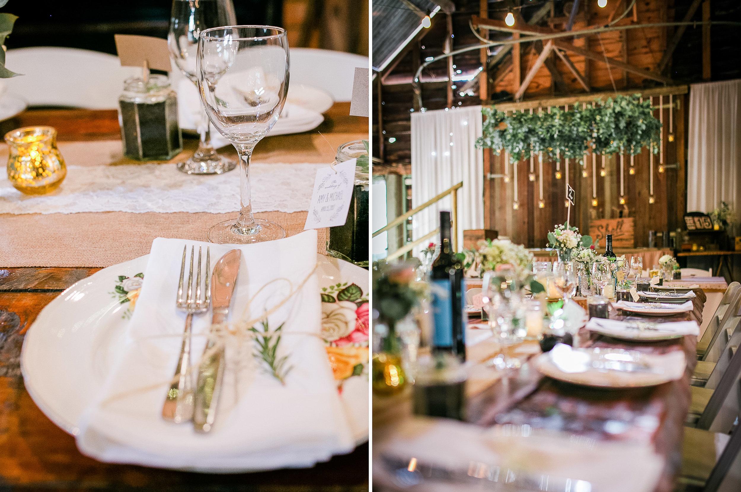 True North Photography_Boomerang Farm_Amy and Michael_Getting ready_Wedding Dress_Gold Coast Wedding_table styling.jpg