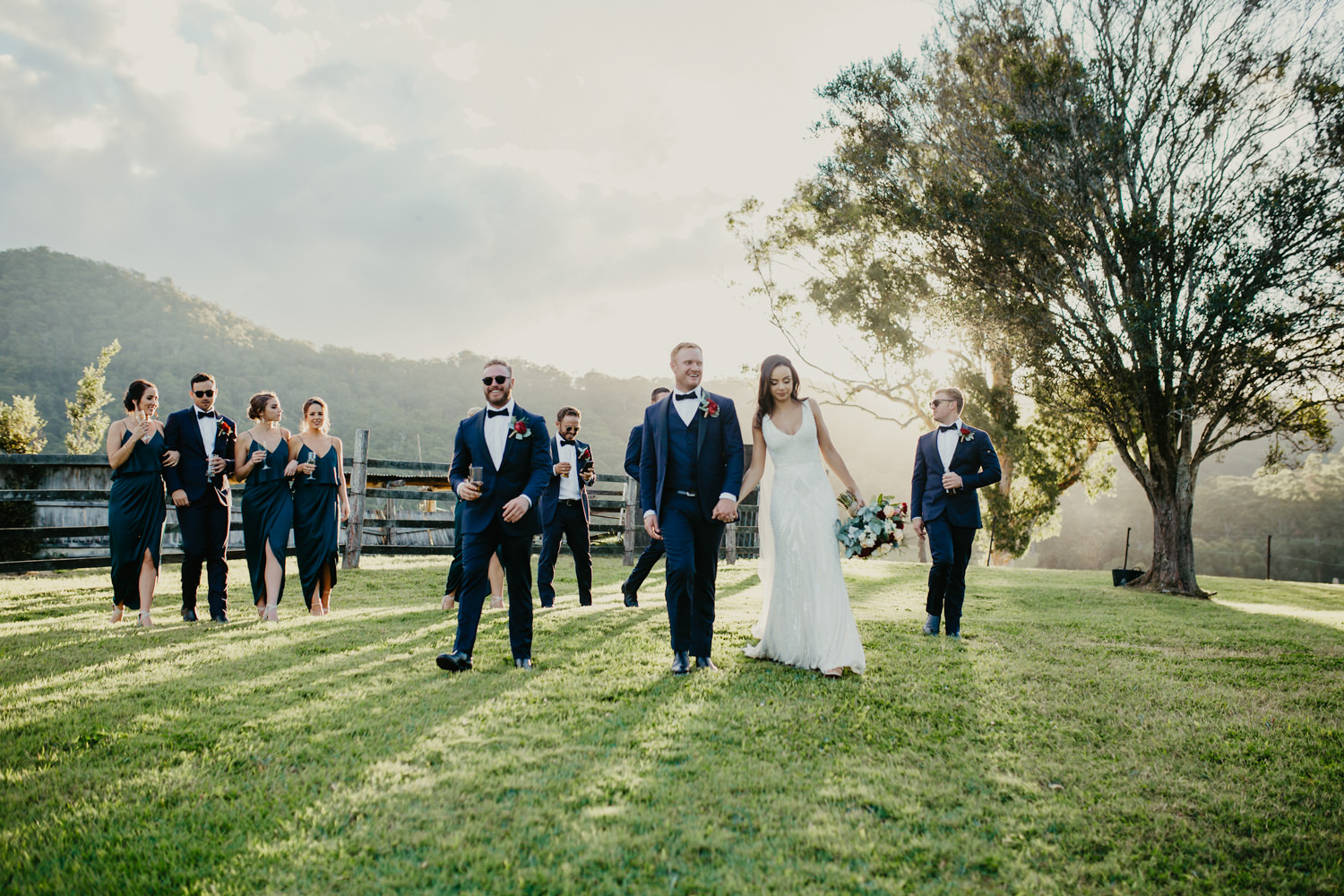 True-North-Photography-Cowbell-Creek-Bridal-party-golden-hour.jpg