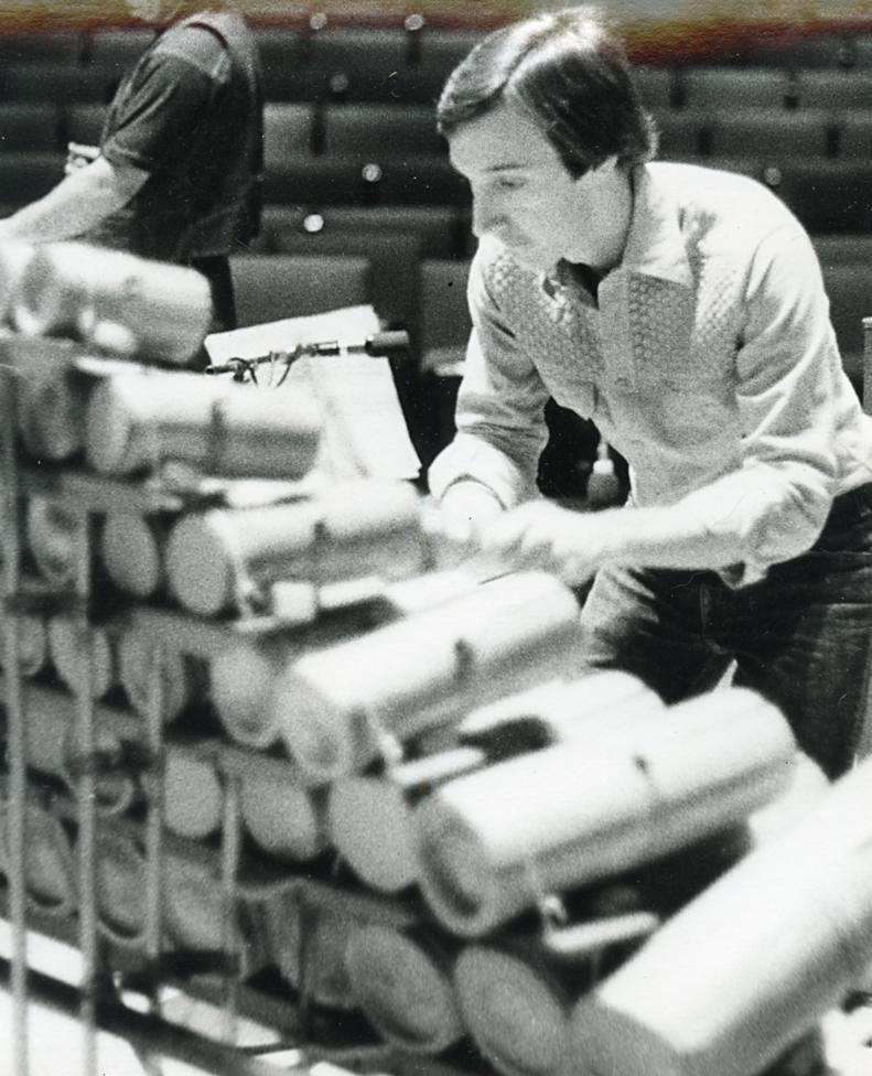 Jon Szanto playing the  Boo , circa 1976
