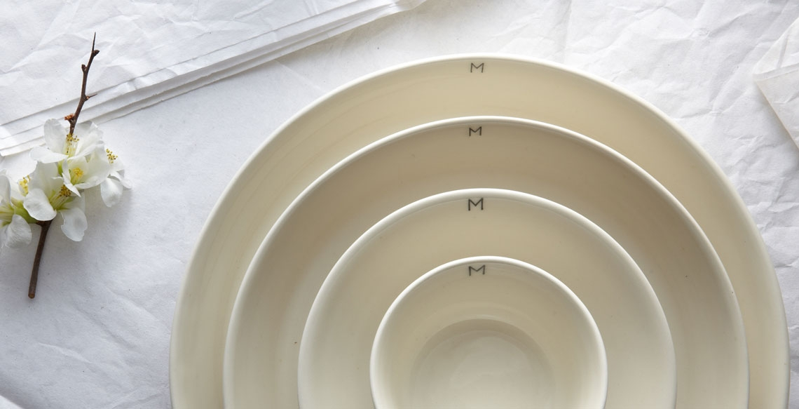 credit: product development for MARCH Monogram tableware.  client: march  photo credit: katie newburn
