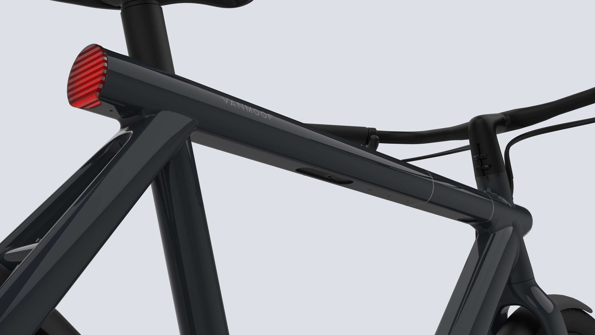 VanMoof's Futuristic Anti-Theft Electrified Bikes — LivingIQ