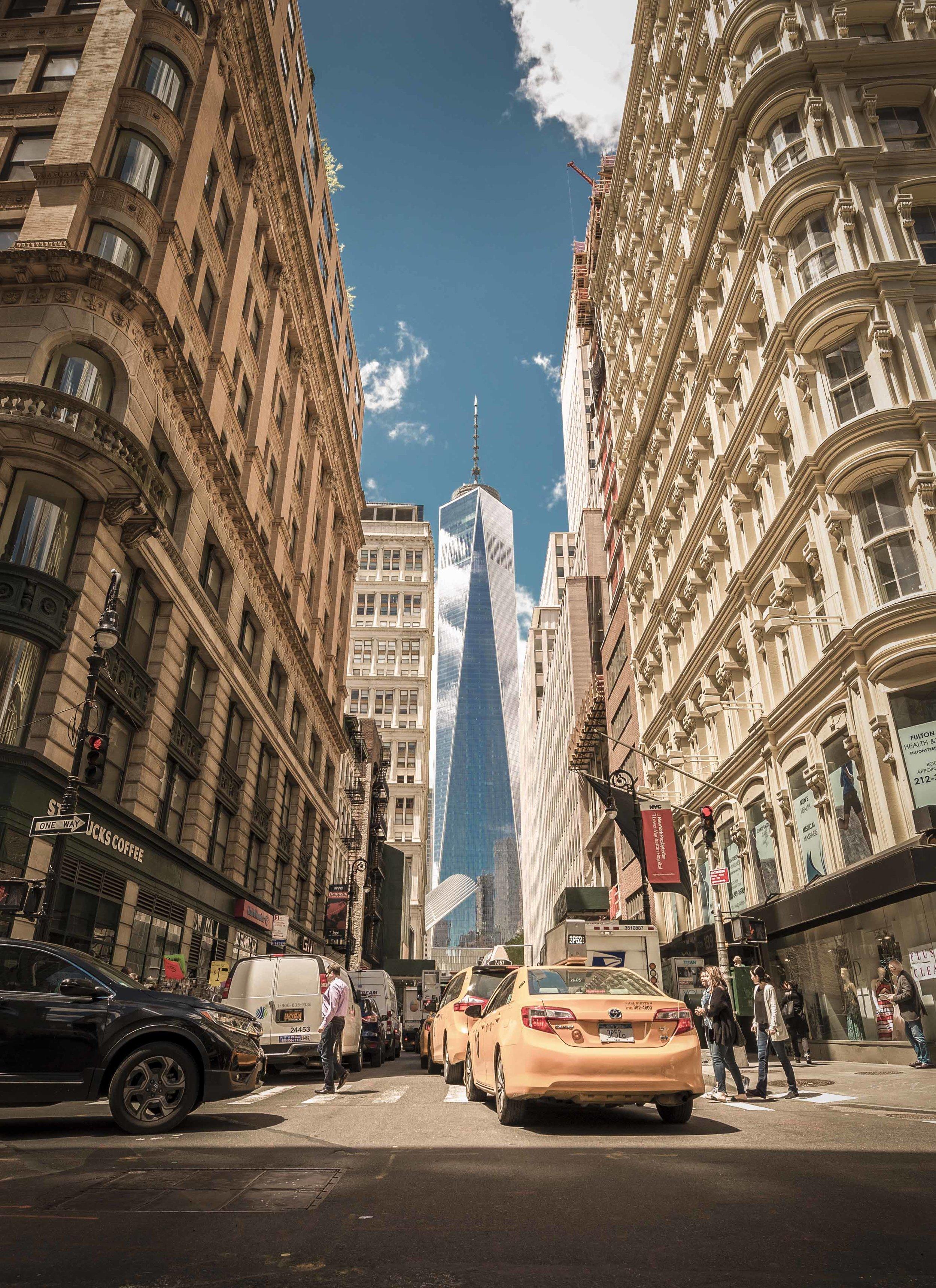 """Lower Manhattan, NYC."""