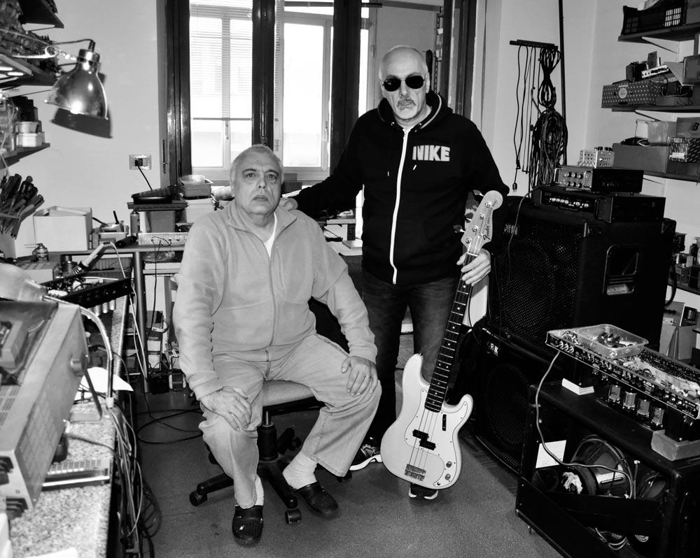Nick Epifani and Franco Savio in Vinova, Torino