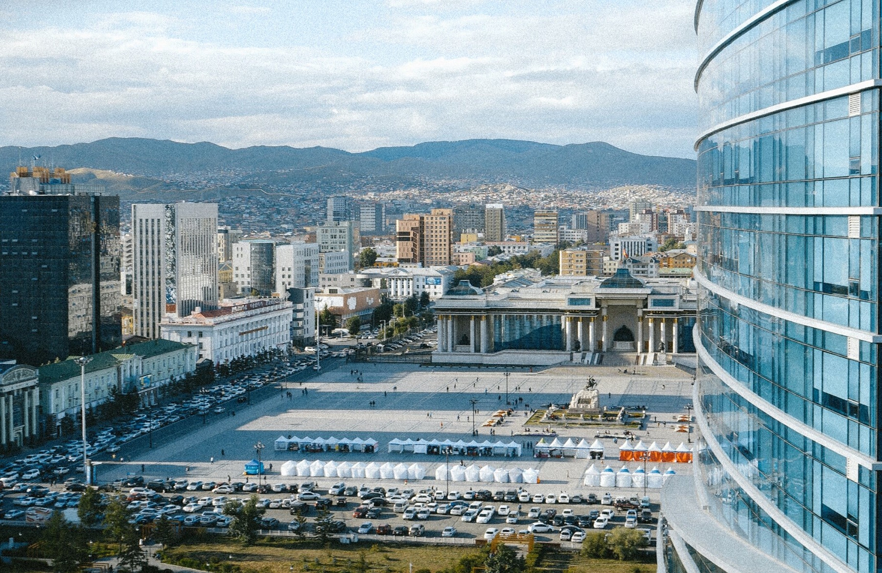 The only walking tour in Mongolia
