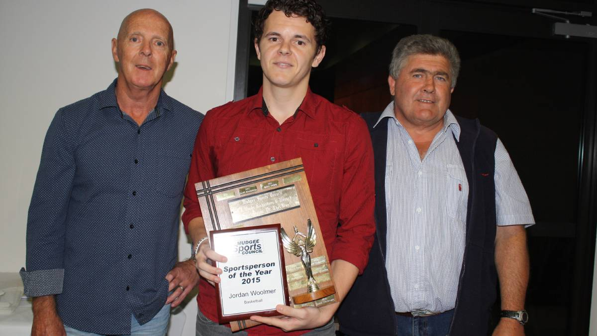 JORDAN WOOLMER IS MUDGEE SPORTS COUNCIL SPORTSPERSON OF THE YEAR