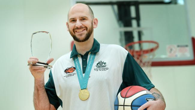 KILSYTH COACH BRENT REID SETS THE TONE FOR DEAF SPORT