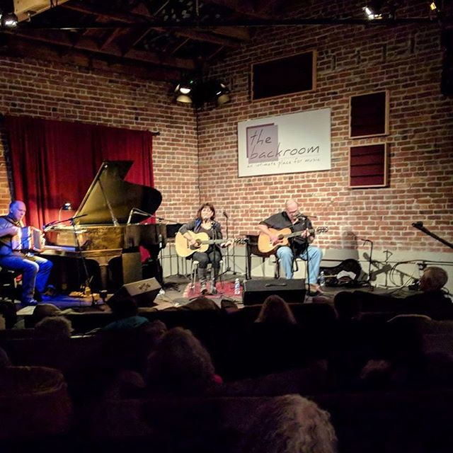 The farthest seat in the house. A fantastic show with Tish Hinojosa on Nov. 16, 2017. Photo by Garry Howard.