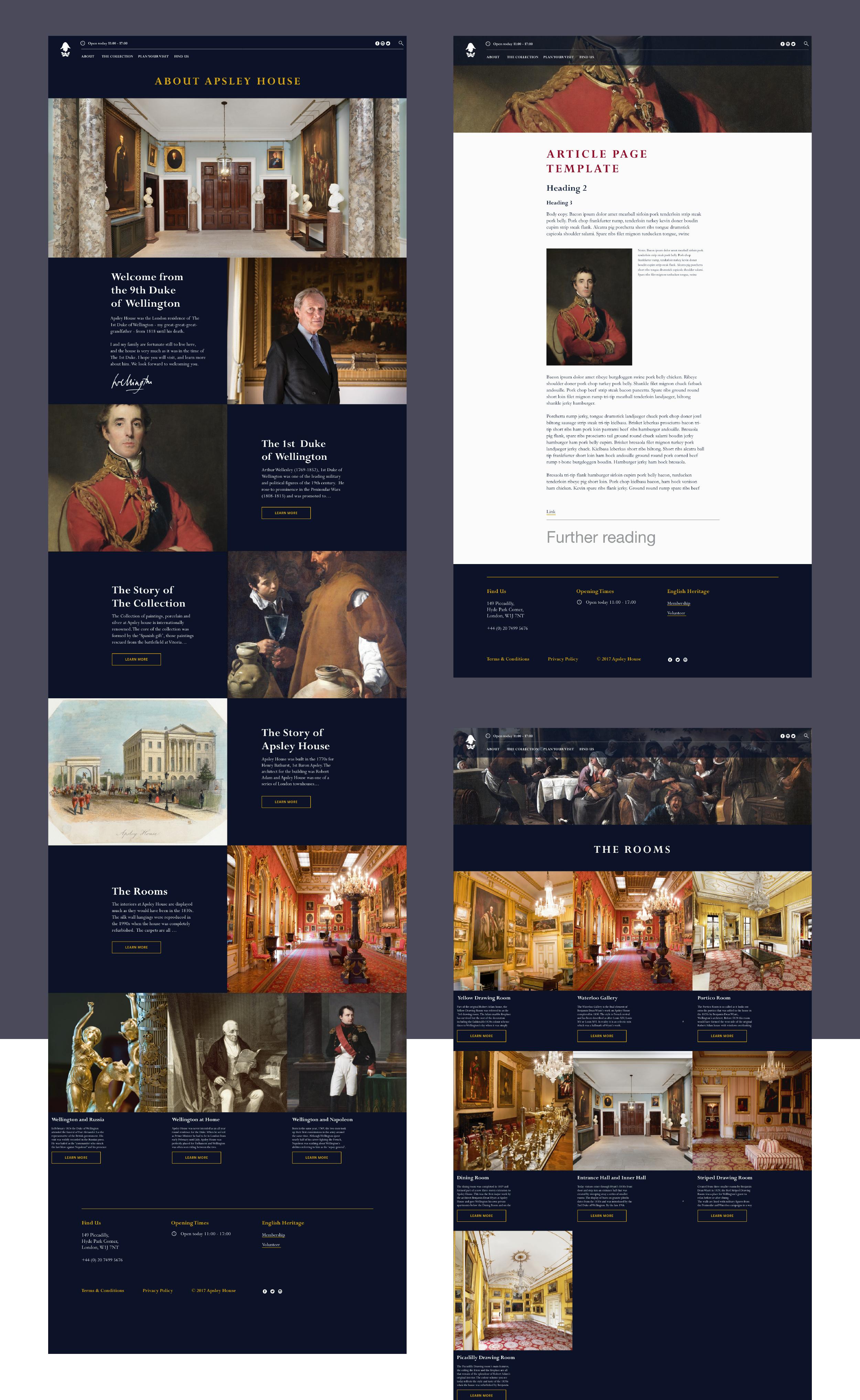 Website: desktop