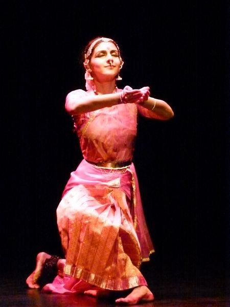 La danseuse Lavanya Ananth
