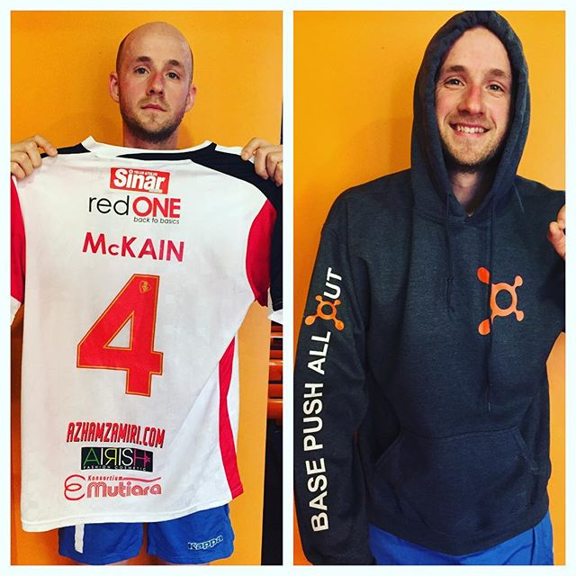 "Today at @otfhawthorn it was 'Dress as your favourite Malaysian Footballer"" Day. Because I don't have a @brendangan shirt, I went with my obvious hero @jonnymckain4. The new hoodies are amazing too guys! Great endurance workout today.  #JonMcKain #JonMcKain #JonMcKain #JonMcKain #JonMcKain #JonMcKain #JonMcKain #JonMcKain #JonMcKain #JonMcKain #JonMcKain #JonMcKain #JonMcKain #JonMcKain #JonMcKain"
