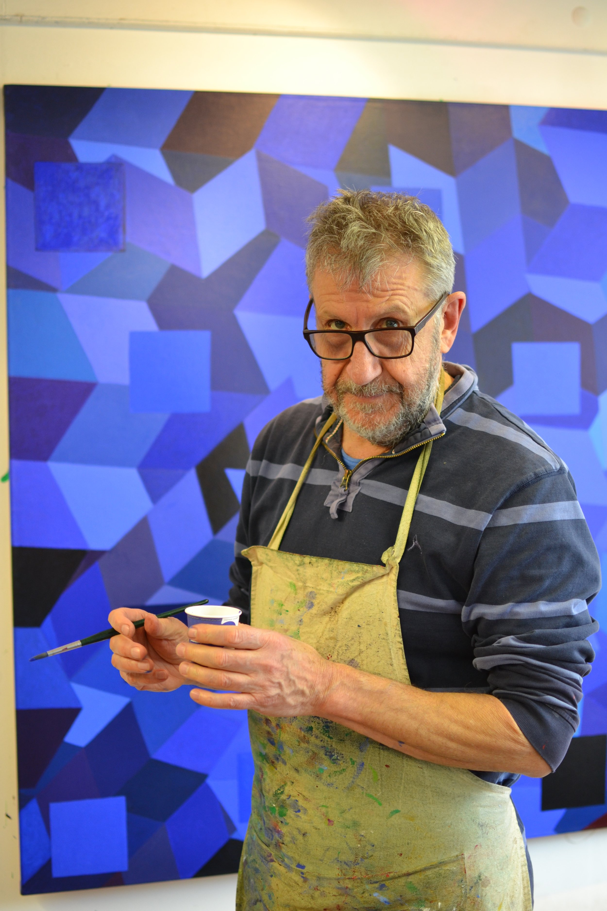 Clive Croft in his Waterloo studio.