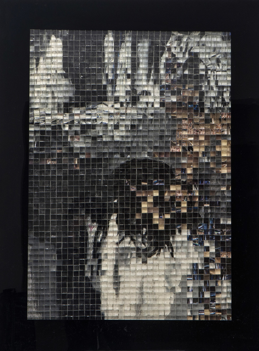 Concern, Mix Media On Plexiglass. 58 x 80 cm, 2014