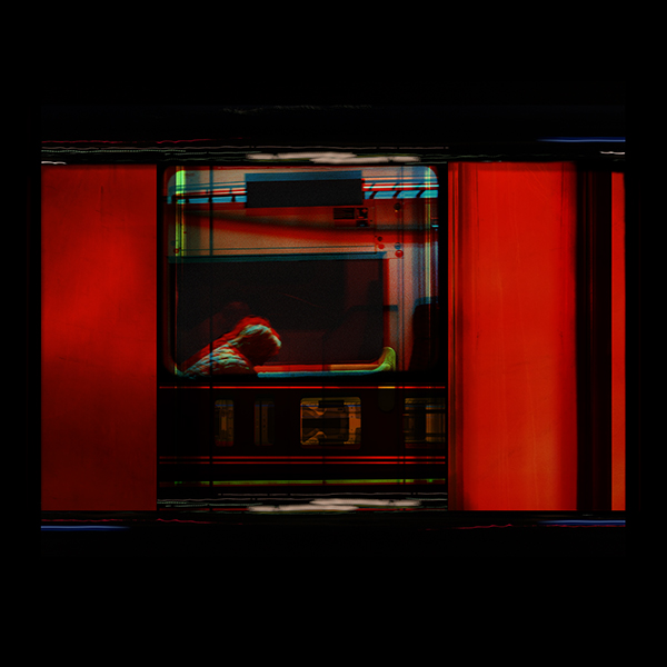 UN-Titled From 2am -Chapter Four  Durantran prints on LED display | 60 x 60 cm  £500