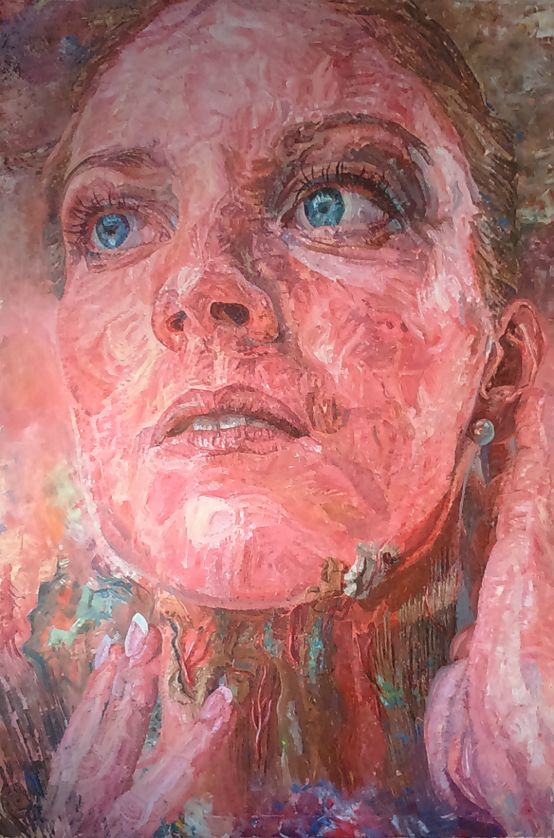 Origen Mimético  Acrylic on canvas |97 x 147 cm (framed) |£3,000
