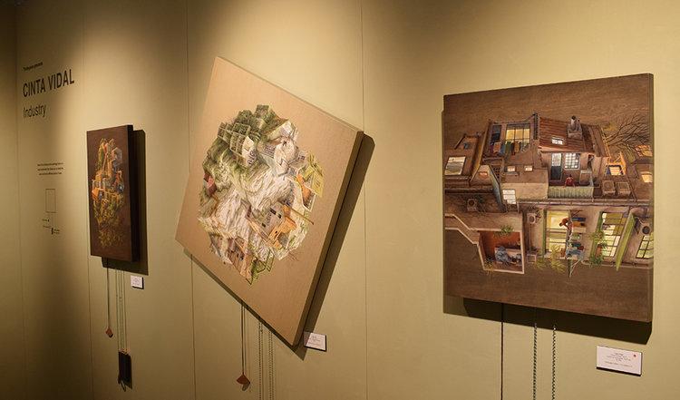 Cinta VIdal as presented by the Thinkspace Gallery.