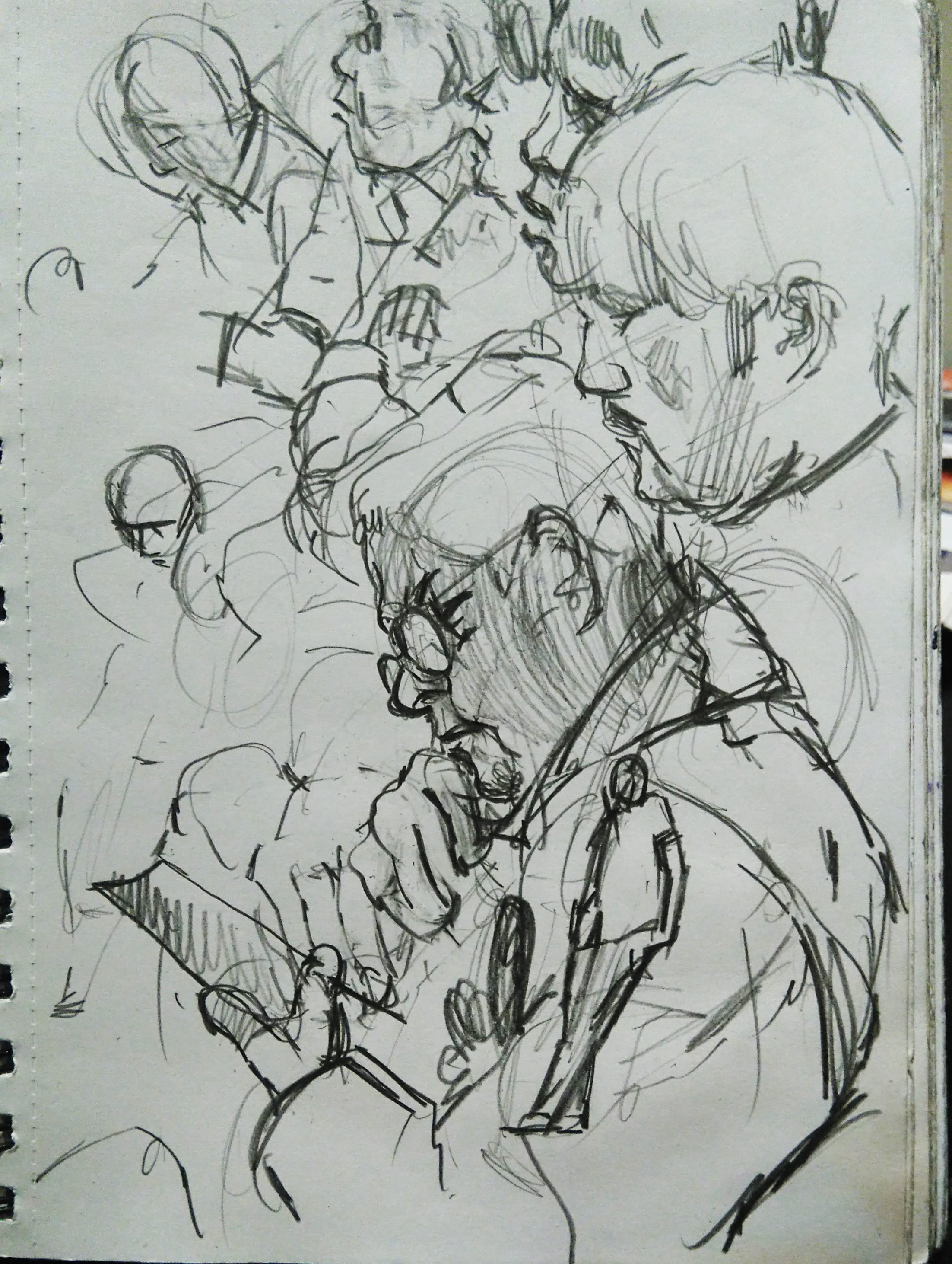 Pages from Mark's sketch